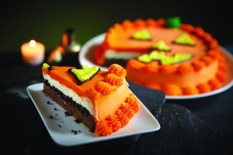 Carvel Halloween Pumpkin Cake